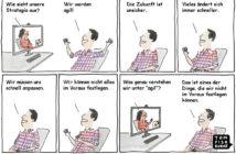 Cartoon: Agilität ist nicht immer klar definiert