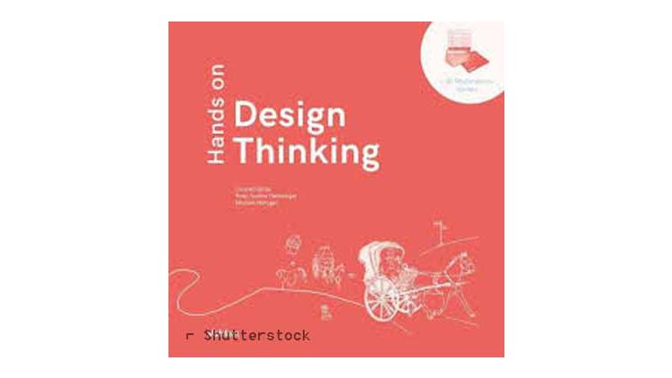 Buchtipp: Hands on Design Thinking von Conrad Glitza, Rosa-Sophie Hamburger und Michael Metzger.