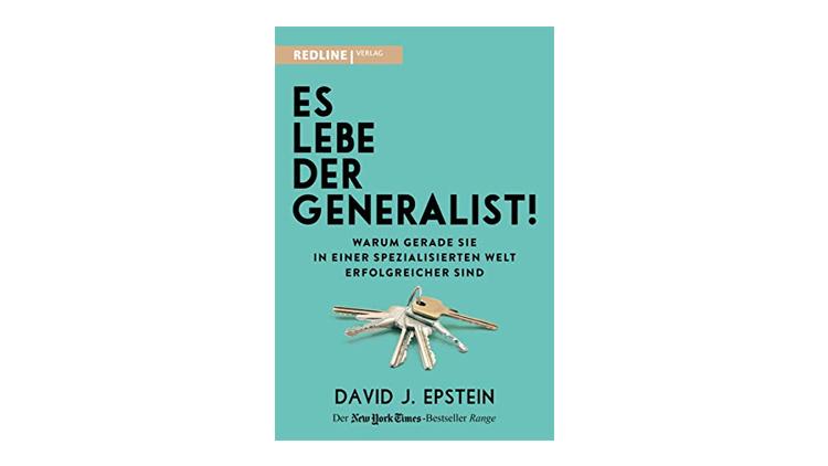 Buchtipp: Es lebe der Generalist! - David J. Epstein