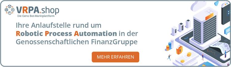 Bots und Prozesse für die Genossenschaftliche FinanzGruppe