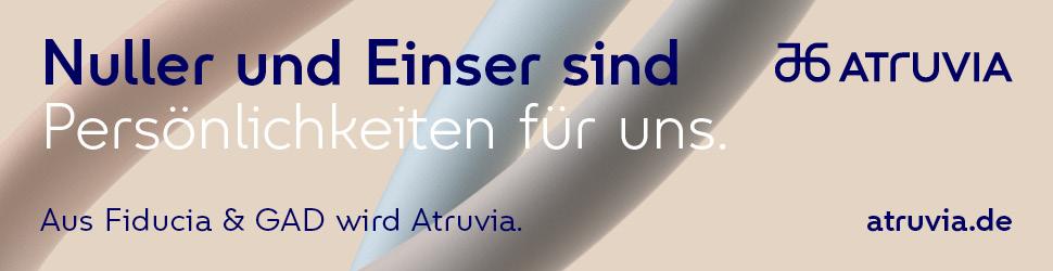 Neuer Binärer Code: Aus Fiducia & GAD wird Atruvia