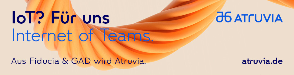 Internet of Teams: Aus Fiducia & GAD wird Atruvia