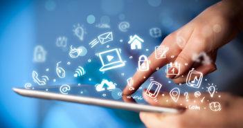 90 Prozent nutzen Social Media - Infografik